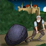پادشاه و تخته سنگ